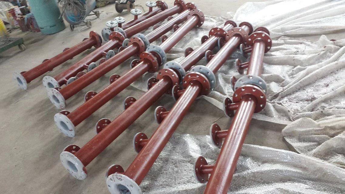 钢衬聚bing烯复合管性能及应用