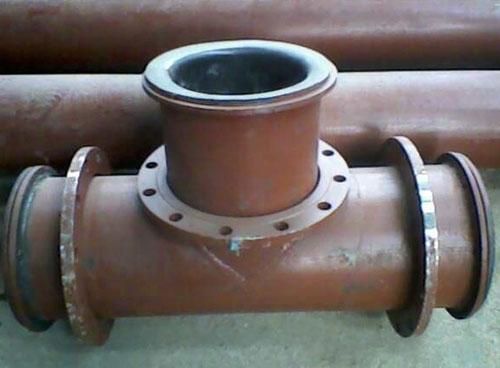 钢衬超高fen子量ju乙烯复合三tong